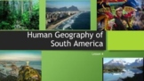 Human Geography of South America - distance learning - goo