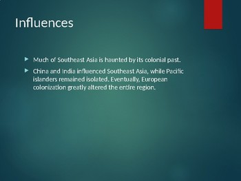Human Geography  of Southeast Asia, Oceania, and Antarctica