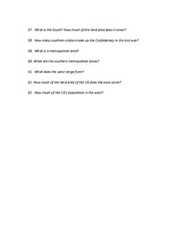 Human Geography of The United States Study Guide