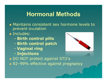 Human Growth and Development: Contraception PowerPoint Presentation