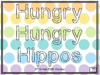 Human Hungry Hippos Math Review