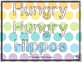 Human Hungry Hippos Math Review