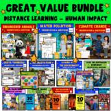 Human Impact - Environmental No Prep Lesson Bundle