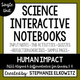 Human Impact Interactive Notebook Unit
