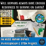Human Impact NGSS Investigation STEM Project Middle School