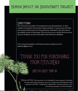 Human Impact Project