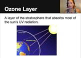 Human Impact on OZONE Video - Flipped Classroom - Living Environment - Biology