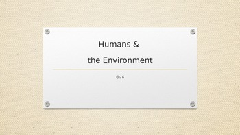 Human Impact on Earth's Environment