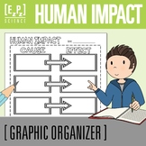 Human Impact on Ecosystems Cause and Effect Science Graphic Organizer