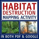 Human Impact on the Environment Activity Habitat Destruction