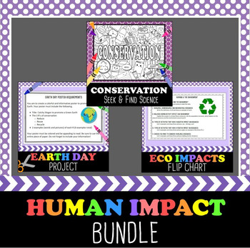 Human Impact on the Environment Bundle