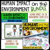 Human Impact on the Environment Unit & BOOM Cards BUNDLE