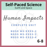 Human Impacts Middle School Earth Science NGSS Complete Unit