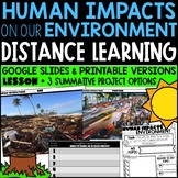 Human Impacts on the Environment - Distance Learning