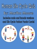 Human Life Cycle Quiz and Partner Puzzle