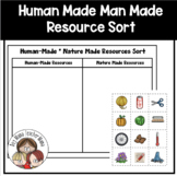 Human-Made Nature Made Resources Sort