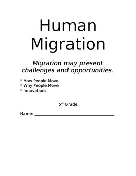 Human Migration Packet