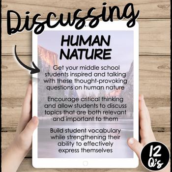Human Nature- Conversation Starters
