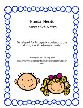 Human Needs Interactive Notes