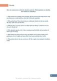 Human Needs: Worksheet