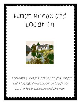 Human Needs and Location