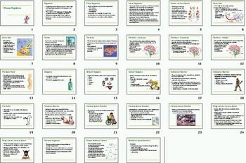 Human Nervous and Endocrine Smartboard Notebook Presentation Lesson