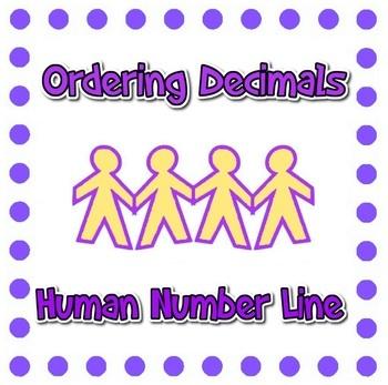 Human Number Line - Ordering Decimals