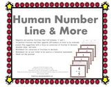 Human Number Line: Ordering Positive and Negative Fraction