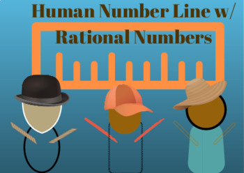 Human Number Line Ordering Rational Numbers