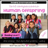 Human Offspring • Reading Comprehension Passages and Questions • RL I