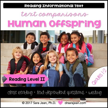 Human Offspring • Reading Comprehension Passages and Questions • RL II