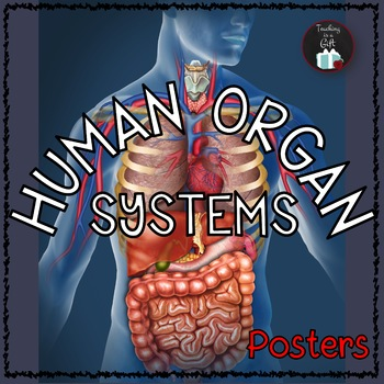 Human Organ Systems Science Concepts Posters