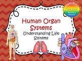 Human Organ Systems Task Cards