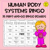 Human Organs and Systems Bingo