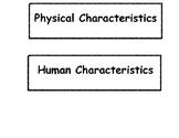 Human & Physical Characteristics Pocket Sort