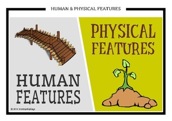 Human & Physical Geographical Features