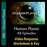 Human Planet - All Episodes - Video Response Worksheets &