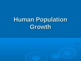 Human Population Growth PowerPoint