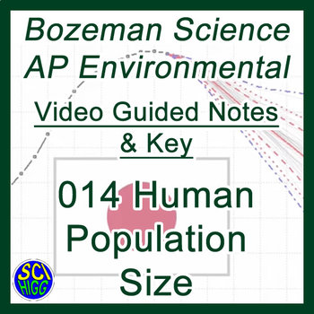 014 Human Population Size - Bozeman Science AP Environmental Guide & Key