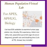 Human Population Virtual Lab -Distance Learning