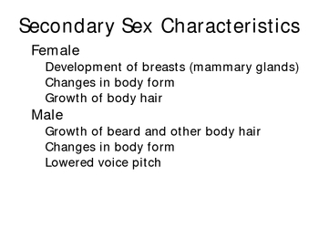 Sexual reproduction in humans powerpoint