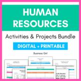 Human Resources (HR) Activity Bundle