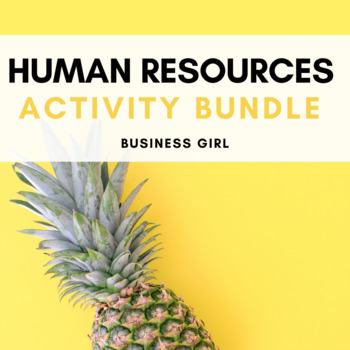 Human Resources (HR) Activity Bundle