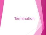 Human Resources Management- Termination Tactics