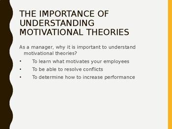 Human Resources Management- Understanding Motivating employees