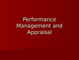 Human Resources: Performance Appraisals and Performance Management