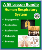 Human Respiratory System - Complete 5E Lesson Bundle