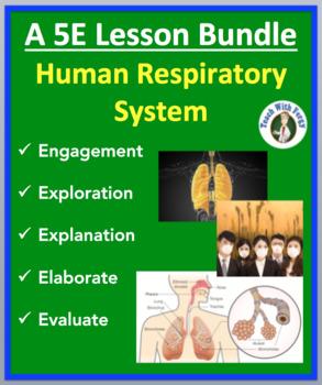Human Respiratory System - Complete 5E Lesson Bundle