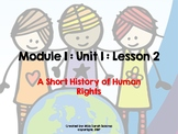 Human Rights 5th Grade ELA Engage NY Module 1 Lesson 2