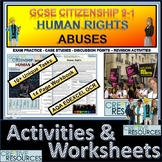 Human Rights Abuses Teacher & Student Work Booklet